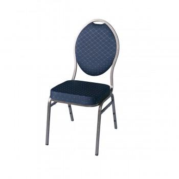 Bankettstuhl, blau