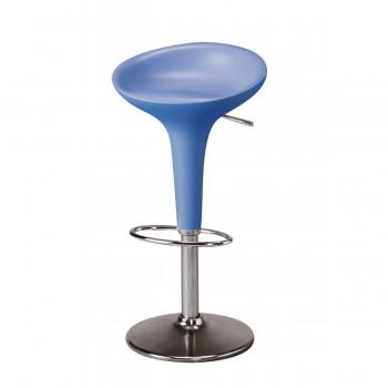 Barstuhl Bombo, blau
