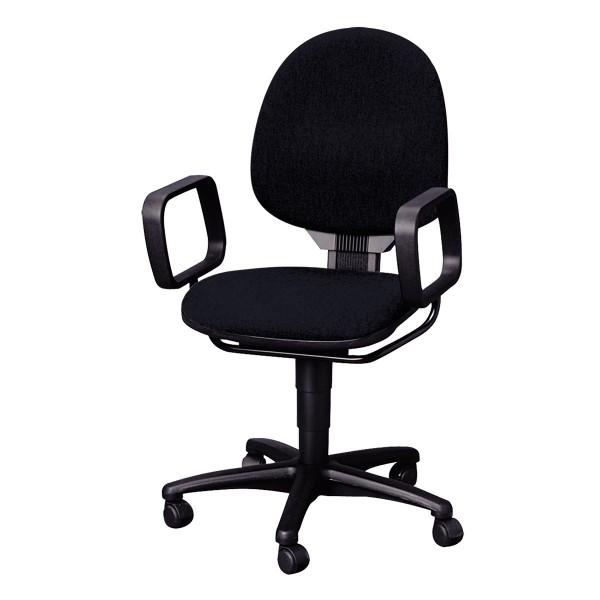 drehstuhl mit armlehnen schwarz b rom bel expo mietm bel st hle und tische mieten. Black Bedroom Furniture Sets. Home Design Ideas