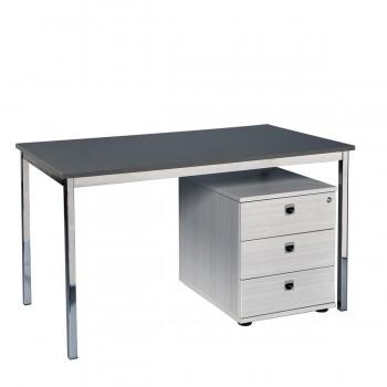 Schreibtisch 120, grau