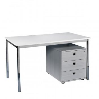 Schreibtisch 120, weiß