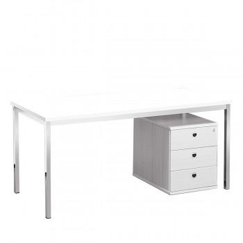 Schreibtisch 160, weiß