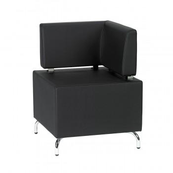 Sitzelement Multi III (Eckelement), schwarz