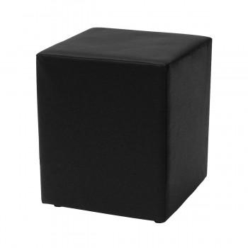 Sitzwürfel Qube, schwarz