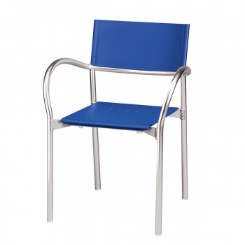 Stuhl Breeze, blau