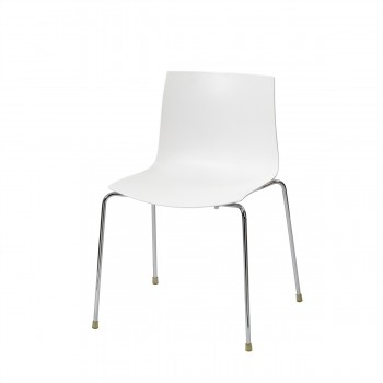 Stuhl Catifa, weiß
