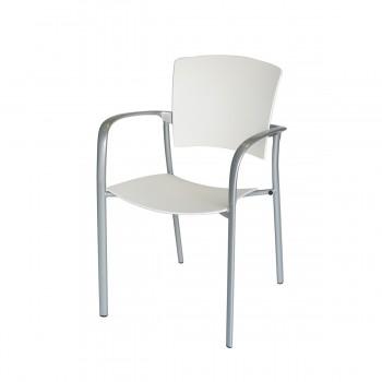 Stuhl Eina, weiß