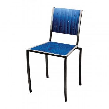 Stuhl Pico, blau