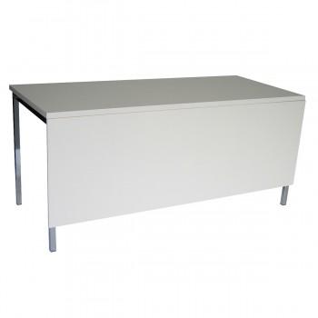 Tisch Standard 160 mit Blende, weiß
